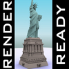 03 36 33 383 statue of liberty free 3d model 4