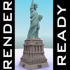 Statue of Liberty 3D Model