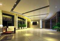 Lobby space 199 3D Model