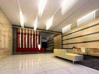 Lobby space 202 3D Model