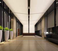 Lobby space 205 3D Model