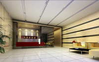 Lobby space 203 3D Model