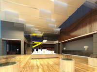 Lobby space 208 3D Model