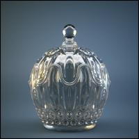 Decorative Crystal Bowl 3D Model