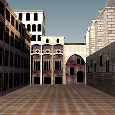 Gothic Square 3D Model