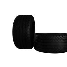 Muscle Car tire 3D Model