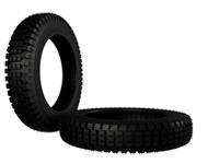 Pireli LightBike Tire 3D Model