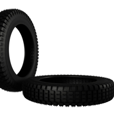 Pireli LightBike Tire 3D Model