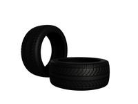 Rain Tire 3D Model