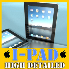 3D Model Realistic Apple Ipad High Detail 3D Model