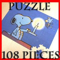 3D Model Jigsaw Puzzle 108 pieces 3D Model