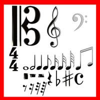 3D Model Musical Symbols 3D Model