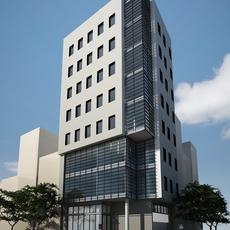 3D Model Office Building 3D Model