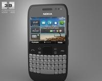 Nokia E6 3D Model