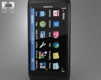 Nokia E7-00 3D Model