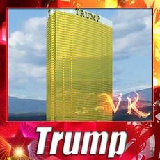 3D Model Trump International Hotel High Detail 3D Model