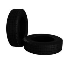 Truck Car Tire  3D Model