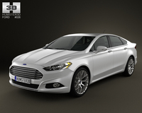 Ford Fusion 2013 3D Model