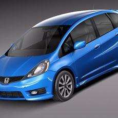 Honda Fit - Jazz Sport 2012 3D Model