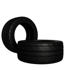 Ventus RS3 Tire   3D Model