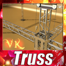 3D Model Truss System High Detail 2.0 3D Model