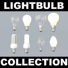 Lightbulb Collection 3D Model