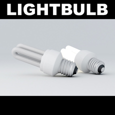 Lightbulb Tube 3D Model