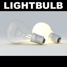 Lightbulb Big  3D Model