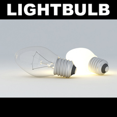 Lightbulb Egg  3D Model