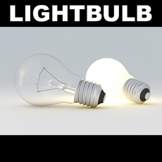 Lightbulb Round 3D Model