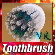 3D Model Electric Toothbrush High Detail 3D Model