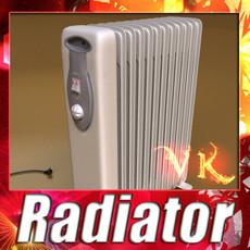 3D Model Portable Radiator High Detailed 3D Model