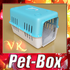 Pet Carrier High Detailed 3D Model