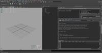 Free Source Python & Script Editor Dockable for Maya 1.0.0 (maya script)