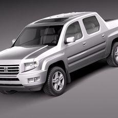 Honda Ridgeline 2012 3D Model