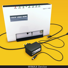 WiMAX Device 3D Model