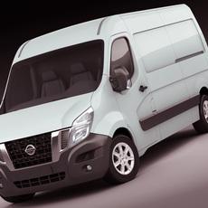 Nissan NV400 van 2011 3D Model