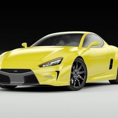 Concept Coupe Original Design 3D Model