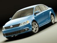 VW Jetta 2011 3D Model