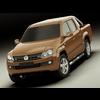VW Amarok 2011 3D Model