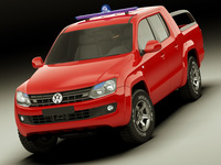 VW Amarok SAR 3D Model