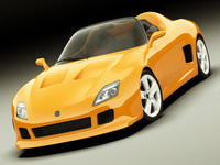 Concept Roadster Original Design 3D Model