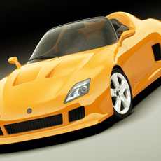 Concept Roadster Original Design 3D Model