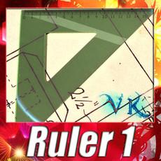 3D Model Square Angle Ruler 01 3D Model