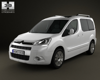 Citroen Berlingo Multispace 2011 3D Model