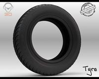 Euro Star Tire 3D Model