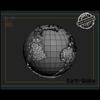 03 49 08 160 earth globe render 03 4