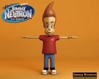 Jimmy Neutron 3D Model