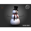 03 49 10 662 snow man render 02 4