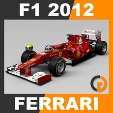 F1 2012 Ferrari F2012 - Scuderia Ferrari 3D Model